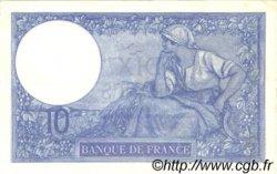 10 Francs MINERVE FRANCE  1918 F.06.03 pr.SUP