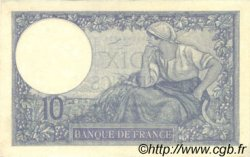 10 Francs MINERVE FRANCE  1925 F.06.09 pr.SUP