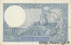 10 Francs MINERVE FRANCE  1936 F.06.17 pr.SUP