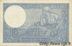 10 Francs MINERVE modifié FRANCE  1939 F.07.01 SUP