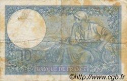 10 Francs MINERVE modifié FRANCE  1939 F.07.05 TB