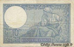 10 Francs MINERVE modifié FRANCE  1939 F.07.09 TB