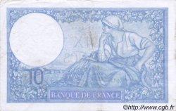 10 Francs MINERVE modifié FRANCE  1939 F.07.10 TTB+