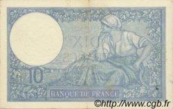 10 Francs MINERVE modifié FRANCE  1939 F.07.11 TTB+