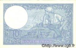 10 Francs MINERVE modifié FRANCE  1939 F.07.12 TTB+
