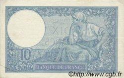 10 Francs MINERVE modifié FRANCE  1939 F.07.14 TTB à SUP