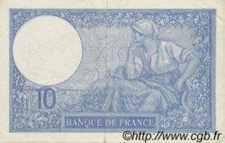 10 Francs MINERVE modifié FRANCE  1940 F.07.18 pr.SUP