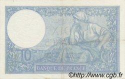 10 Francs MINERVE modifié FRANCE  1941 F.07.29 SUP+