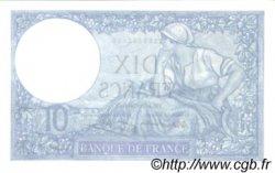 10 Francs MINERVE modifié FRANCE  1941 F.07.30 SUP à SPL