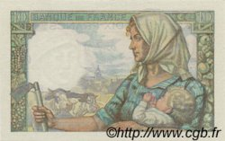 10 Francs MINEUR FRANCE  1943 F.08.07 SPL