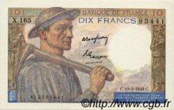 10 Francs MINEUR FRANCE  1949 F.08.20 pr.NEUF
