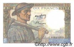 10 Francs MINEUR FRANCE  1949 F.08.22 pr.NEUF