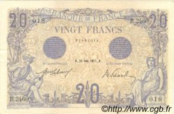 20 Francs BLEU FRANCE  1912 F.10.02 pr.SUP