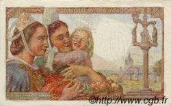 20 Francs PÊCHEUR FRANCE  1942 F.13.04 pr.SPL