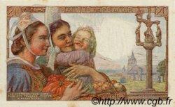 20 Francs PÊCHEUR FRANCE  1943 F.13.05 SPL