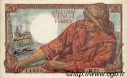 20 Francs PÊCHEUR FRANCE  1943 F.13.06 TTB+ à SUP