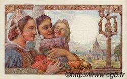 20 Francs PÊCHEUR FRANCE  1947 F.13.11 TTB à SUP