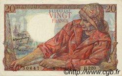20 Francs PÊCHEUR FRANCE  1949 F.13.15 SUP+