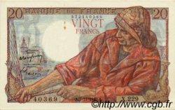 20 Francs PÊCHEUR FRANCE  1949 F.13.16 SUP+