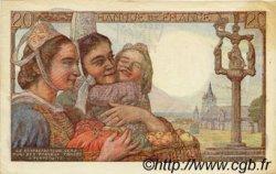 20 Francs PÊCHEUR FRANCE  1950 F.13.17 pr.SUP