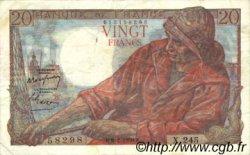 20 Francs PÊCHEUR FRANCE  1950 F.13.17 TB à TTB