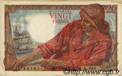 20 Francs PÊCHEUR FRANCE  1950 F.13.17 TTB+