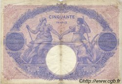 50 Francs BLEU ET ROSE FRANCE  1912 F.14.25 pr.TB