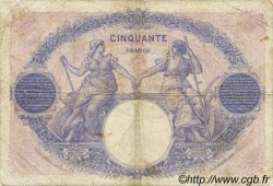 50 Francs BLEU ET ROSE FRANCE  1923 F.14.36 B