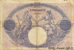 50 Francs BLEU ET ROSE FRANCE  1924 F.14.37 pr.TB