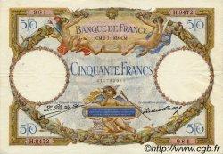 50 Francs LUC OLIVIER MERSON type modifié FRANCE  1931 F.16.02 TTB+ à SUP