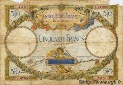50 Francs LUC OLIVIER MERSON type modifié FRANCE  1934 F.16.05 AB