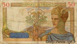 50 Francs CÉRÈS FRANCE  1934 F.17.02 B