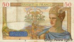50 Francs CÉRÈS FRANCE  1935 F.17.04 TTB
