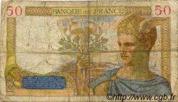 50 Francs CÉRÈS FRANCE  1935 F.17.08 B