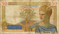 50 Francs CÉRÈS FRANCE  1935 F.17.09 B+