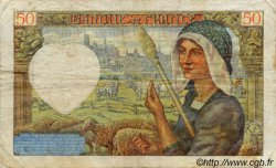 50 Francs JACQUES CŒUR FRANCE  1940 F.19 TB