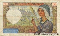 50 Francs JACQUES CŒUR FRANCE  1940 F.19.04 TB+