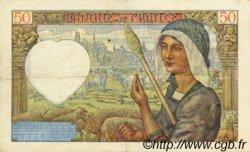 50 Francs JACQUES CŒUR FRANCE  1941 F.19.05 TTB+