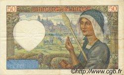 50 Francs JACQUES CŒUR FRANCE  1941 F.19.14 TTB à SUP