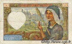 50 Francs JACQUES CŒUR FRANCE  1941 F.19.16 TTB