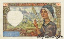50 Francs JACQUES CŒUR FRANCE  1941 F.19.17 SUP