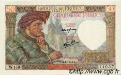 50 Francs JACQUES CŒUR FRANCE  1942 F.19.18 pr.NEUF
