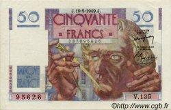 50 Francs LE VERRIER FRANCE  1946 F.20 TTB+ à SUP