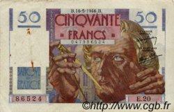 50 Francs LE VERRIER FRANCE  1946 F.20.04 pr.TTB