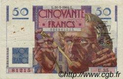 50 Francs LE VERRIER FRANCE  1946 F.20.05 TB+