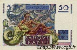 50 Francs LE VERRIER FRANCE  1947 F.20.07 SUP+