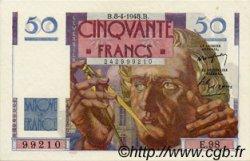 50 Francs LE VERRIER FRANCE  1948 F.20.10 pr.NEUF