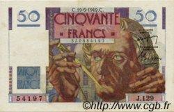50 Francs LE VERRIER FRANCE  1949 F.20.12 SUP