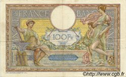 100 Francs LUC OLIVIER MERSON sans LOM FRANCE  1912 F.23.04 TTB+