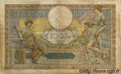100 Francs LUC OLIVIER MERSON sans LOM FRANCE  1922 F.23.15 B+